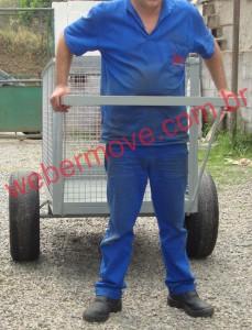 Carro catador materiais recicláveis