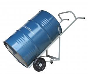 Carrinho de Carga Transporte Tambor de 200 litros, com apoio traseiro (Cod. WMT200AR)