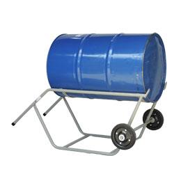 Carrinho de carga para transporte e entornador de tambor WMTTEMC