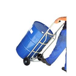 Carrinho de carga para transporte e entornador de tambor wmt200
