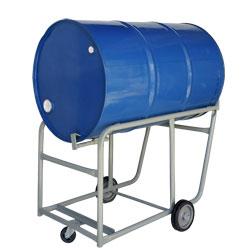 Carrinho de carga para transporte e entornador de tambor wmtemr