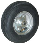 Roda pneumática para carrinho de carga