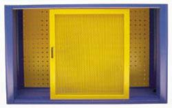 Armário para Ferramentas com Porta em Chapa Perfurada (68A) - Bezafer
