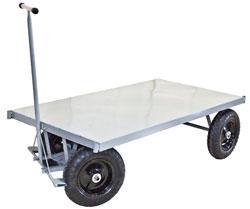Carrinho de Carga Plataforma Aço até 800kg (WM58)