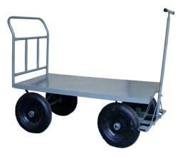 Carrinho de Carga Plataforma de Aço até 600 kg (WM581260P1A)