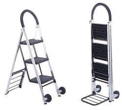 Carrinho Escada Alumínio 3 degraus ( FW-71)