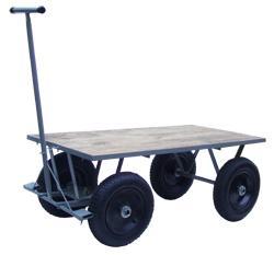 Carrinho de carga plataforma de madeira (WMP1265MADP)