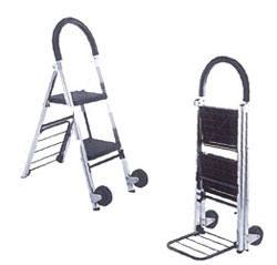 Carrinho Escada Alumínio 2 degraus ( FW-72)