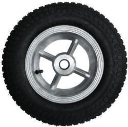Roda de Aluminio de 8' com Pneu e Camara 350x8 RLRA 301