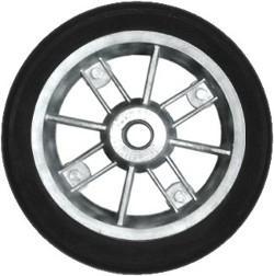Roda de Aluminio de 8' Duas Partes com Pneu e Camara 325x8 RLBRE 201-1