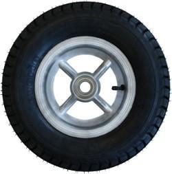 Roda de Aluminio de 8' com Pneu e Camara 400x8 RL 302