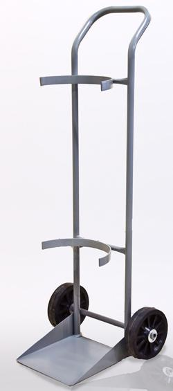 Carrinho de Carga para Transporte de 1 Cilindro Gas (7 a 10 m3 - 40 a 50 litros) Cod. WM1CM